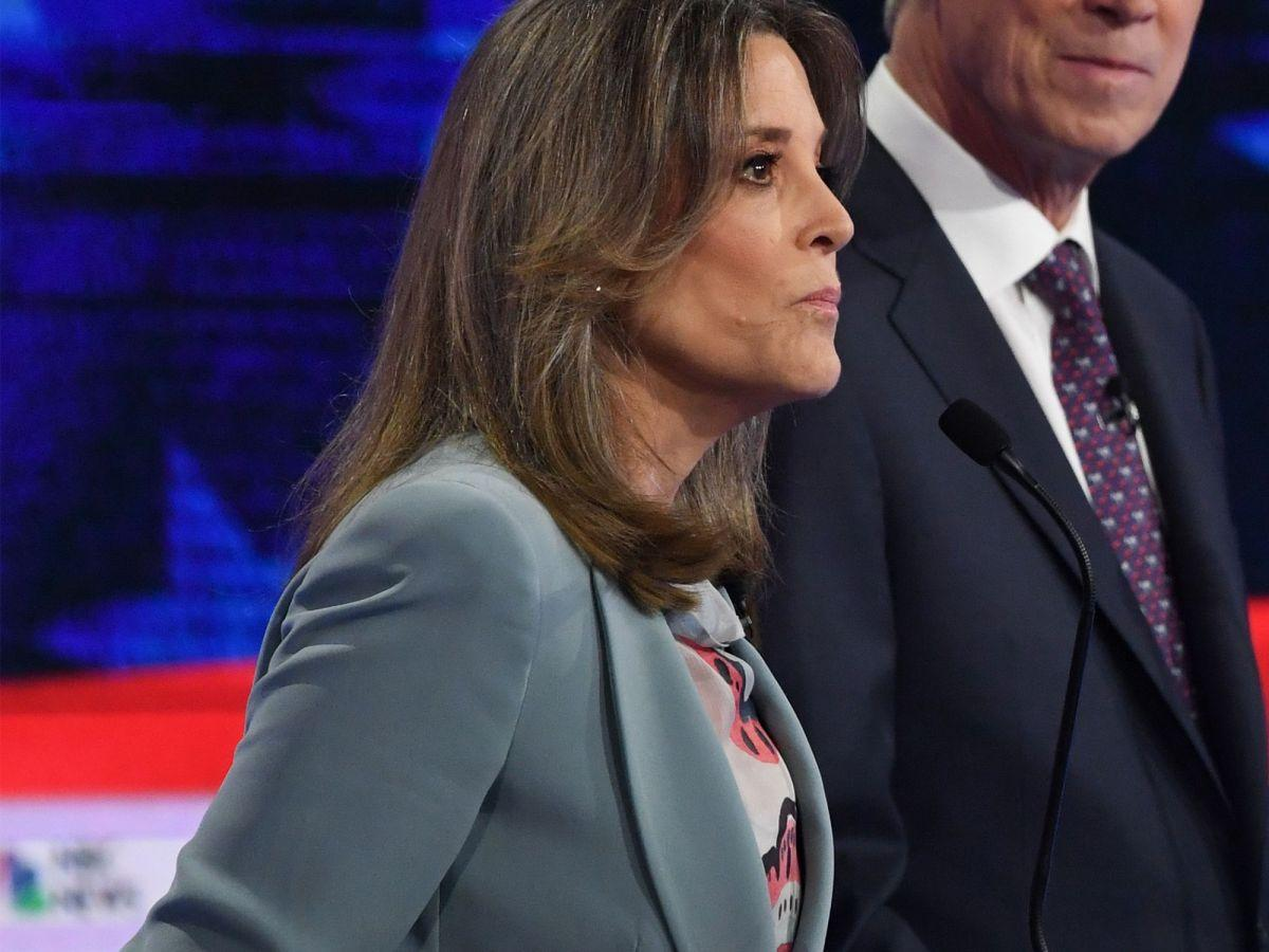 The Cosmic Connection Between Marianne Williamson