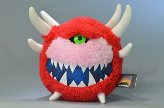 Of course you want this Cacodemon plushy