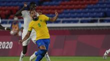 Brazil and Ivory Coast play to a 0-0 draw in Olympic soccer