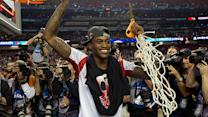 Kevin Ware cuts down the nets