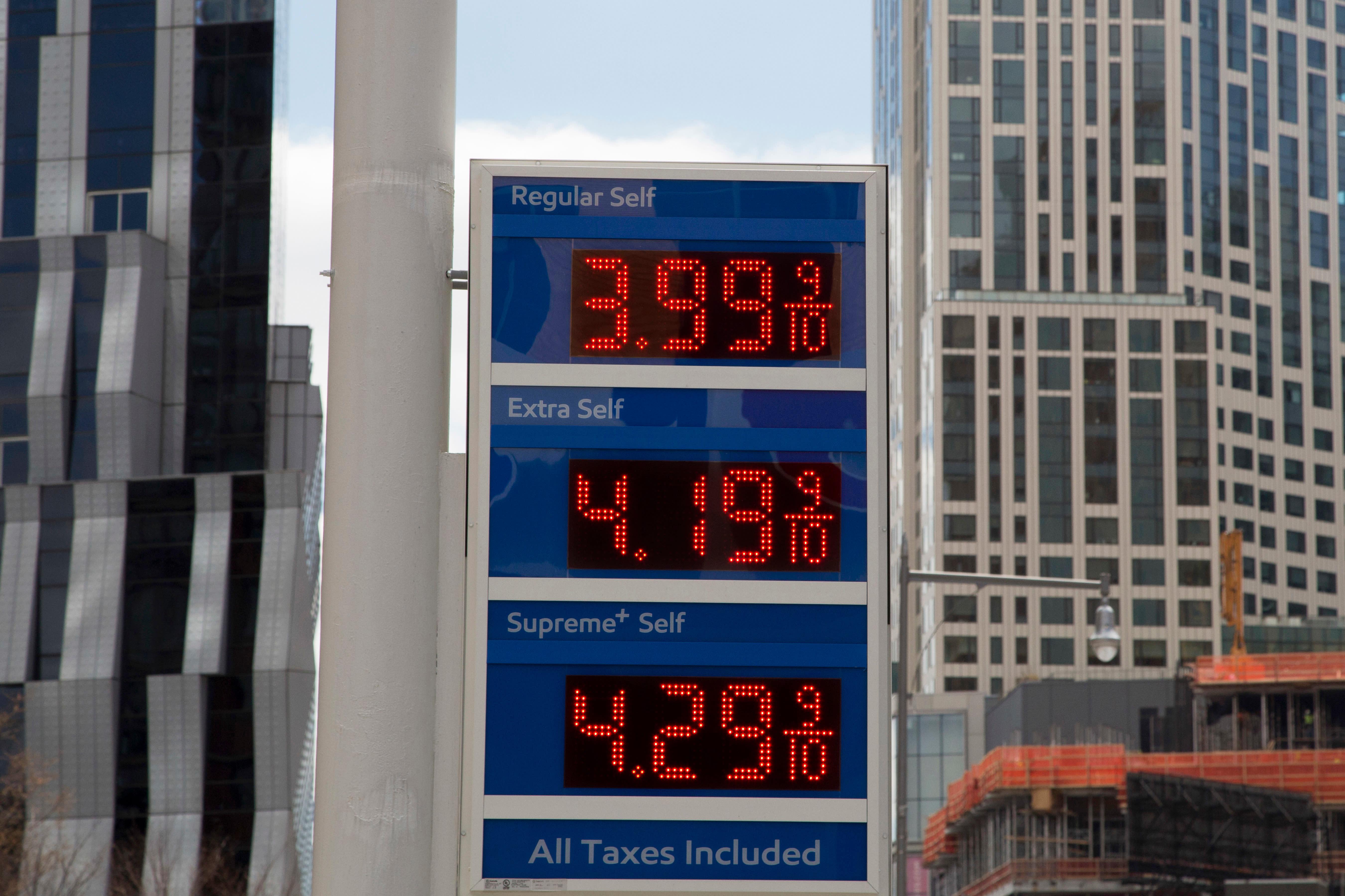 Trump declares oil prices too high, blames OPEC