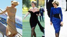 不脫潮流的打扮:已故戴安娜皇妃的 25 個復古穿搭造型,20 年後依舊時尚