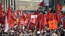 Russia, in 3.000 a Mosca contro la riforma dell'età pensionabile