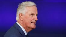 EU's Barnier plays down 'backstop' checks on Northern Irish trade