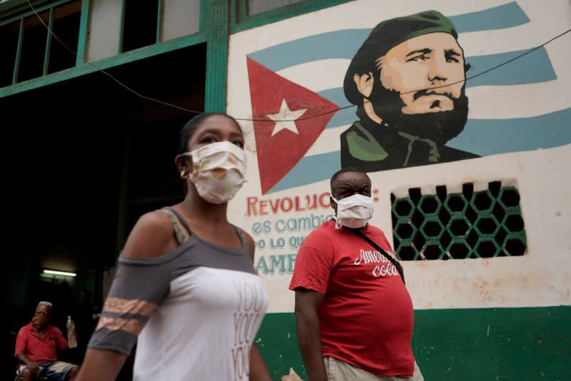 As Cubans let guard down, coronavirus rebounds slightly