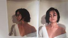 Selena Gomez con dramático cambio de look