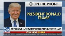 Trump to Hannity: Russia Investigation 'Was a Coup' and 'Attempted Overthrow' of Government
