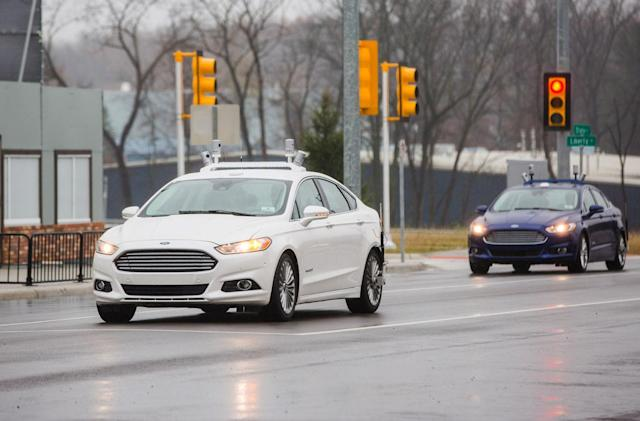Ford wants you to know it's serious about self-driving cars