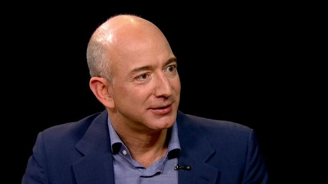 Amazon CEO on setting up shop