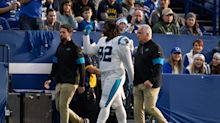 NFL fines Panthers DT Vernon Butler more for middle finger than punching other player
