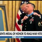 Army hero becomes first living Iraq war veteran to receive Medal of Honor