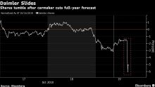 Daimler Drops to Five-Year Low After Second 2018 Profit Warning