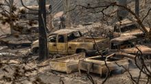 US Wildfires: Harrowing images show charred remains of towns in California and Oregon as thousands flee deadly blazes