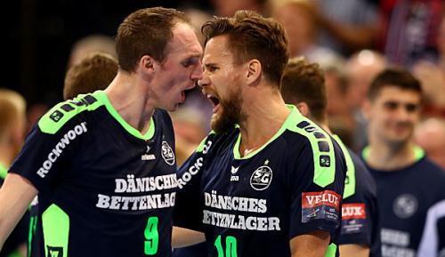 Handball: Traumfinale perfekt: Flensburg folgt Kiel ins Pokal-Endspiel