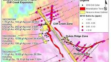 Benchmark Extends Mineralized Resource Area from 200m to over 550m at Lawywers Trend with Successful 2018 Drill Program