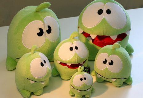Cut the Rope update, plush toys coming soon