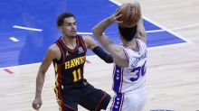 Hawks survive ice-cold Trae Young, stun 76ers in Game 7 to advance to conference finals