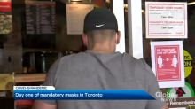Tuesday marks 1st day of mandatory masks in Toronto