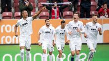 Dortmund slumps to 2-0 Bundesliga defeat in Augsburg