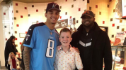 Tennessee QB spends day with bullying victim
