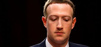 'Sorry': Zuckerberg on hate speech row