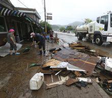 Kim visits North Korea flood zone, orders shelter, food aid