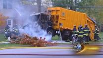 Garbage truck crash victims ID'd as Won Suk Rim, Jung Ran Min; Name of 3rd victim not released