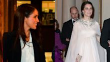 Vote: Who wore it better? Meghan Markle and Kate Middleton wear totally different looks from same designer