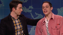 'SNL': Pete Davidson Addresses Suicide Threat – And Reviews 'The Mule' With John Mulaney (Video)