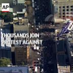 Thousands join in protest against Sydney lockdown