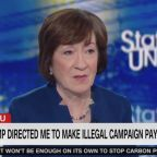 Jake Tapper Shuts Down Susan Collins' Attempt To Spin Trump Hush Money Payments