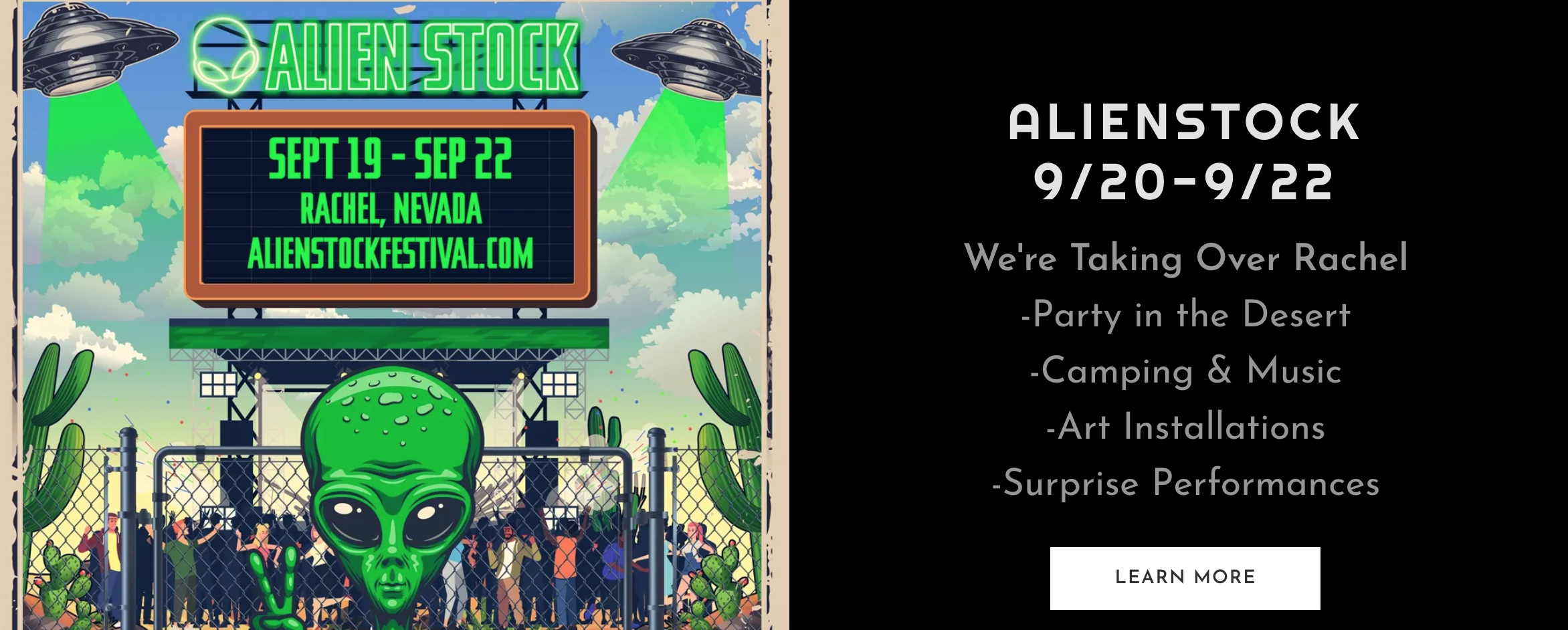 Storm Area 51' organizer to throw 'Alien Stock' festival in