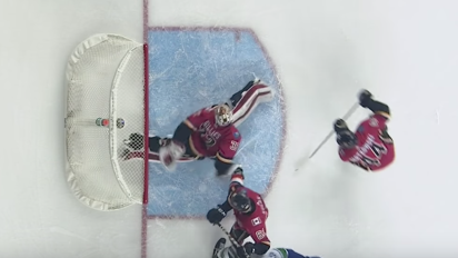 Flames' Gillies makes jaw-dropping save