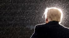 As vote count swings toward Biden, Trump's backers hit the caps-lock key on Twitter