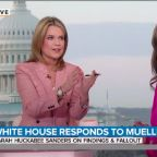 NBC's Savannah Guthrie Grills Sarah Sanders: Does Trump Owe Mueller An Apology?