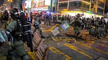Hong Kong Police Targeted With Remote-Controlled Explosive