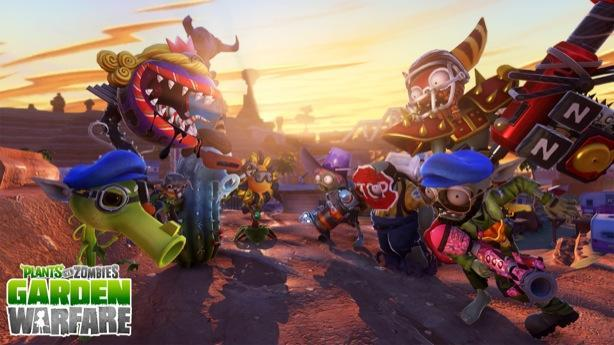 Plants vs. Zombies: Garden Warfare potted to PlayStation [update: in August]