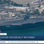 USS Theodore Roosevelt returns