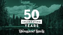 Thousand Trails Concludes Year-Long 50th Anniversary Celebration Year Filled with Events, Giveaways and Time Capsules