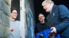 Boris Johnson's 'surprise' milk delivery appears to be exposed as staged by woman's remarks