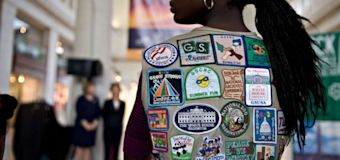 Girl Scouts issue controversial advice on hugs