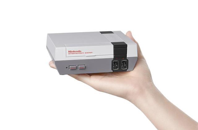 Nintendo's mini NES is out today