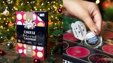 A cheese advent calendar exists and we want it