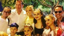 Marc Anthony y Jennifer López salen juntos con Álex Rodríguez como una familia feliz