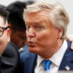 Fake news: Kim and Trump lookalikes draw the crowds in Hanoi