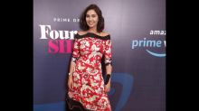 Lisa Ray's Nature-inspired Dress Makes For An Ideal Evening Party Wear