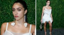 Madonna's daughter Lourdes rocks her natural body hair on the red carpet