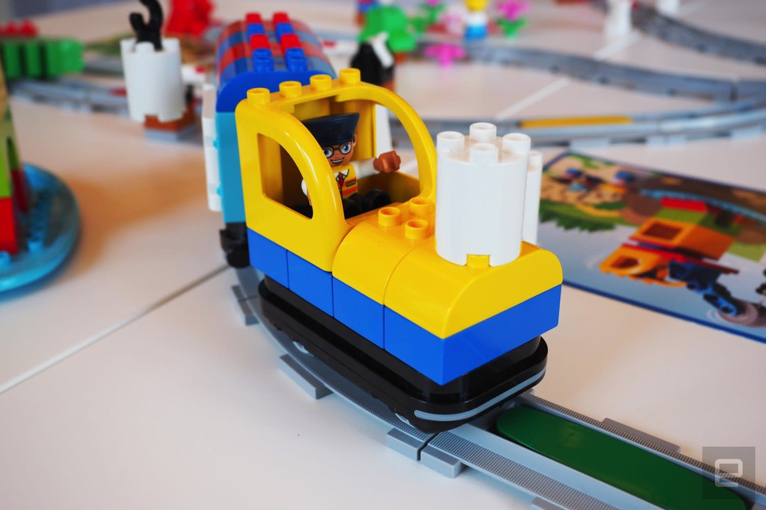 Lego's new toy train is a STEM tool for preschoolers | Engadget