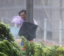 Typhoon Hato hits Hong Kong and southern China