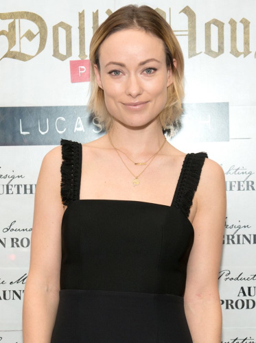 Olivia Wilde attends the opening night on Broadway of Lucas Hnath's